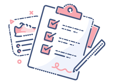 The Cost of Downtime for Retailers - illustration of clipboard and checklist