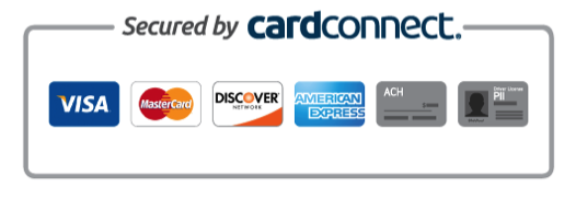 card connect visa master card dicover american express ach